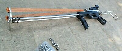 Mahill MK2 Stealth Slingshot Rifle with red dot sight