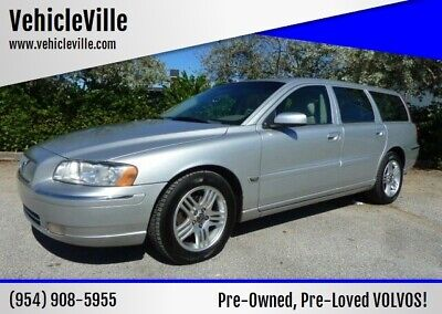 2006 Volvo V70 2.5L Turbo 2006 VOLVO V70 WAGON - ONLY 76K MILES - TIMING BELT! A REAL BEAUTY! WARRANTY!**