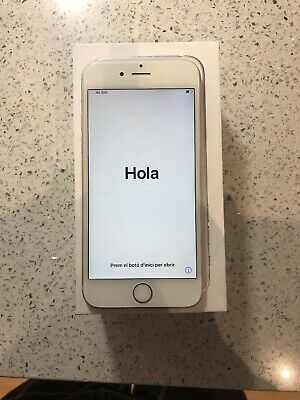 Apple iPhone 6s - 16GB - Silver (O2) Boxed In Great Condition