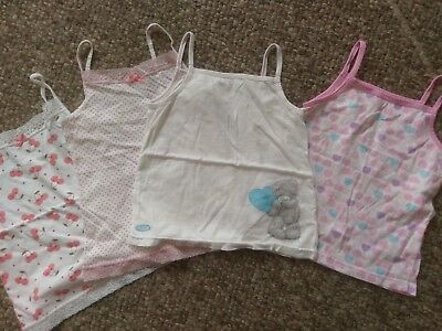 Gorgeous Sun Tops/Vests from Next  Cherries & Me To You Bear age 5-6 NEW