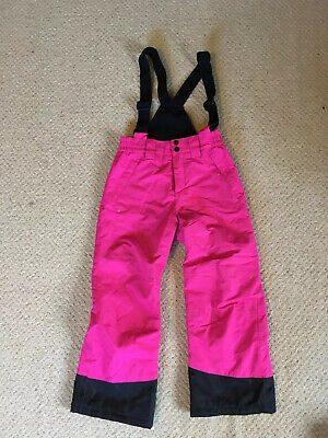 Girls Crane Skiing/snowboarding Trousers Salopettes Age 7-8 Years