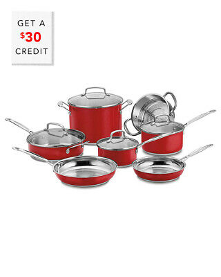 Cuisinart Chef's Classic 11Pc Cookware Set With $30 Credit