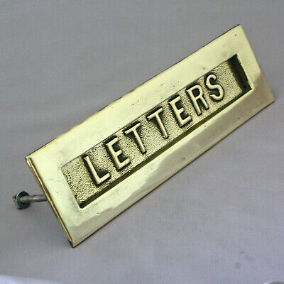 Early 1900s Brass Letterbox