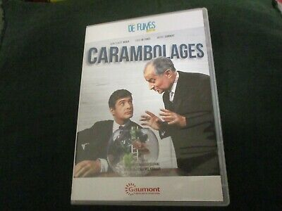 "DVD NEUF ""CARAMBOLAGES"" Louis DE FUNES, Jean-Claude BRIALY, Michel SERRAULT"
