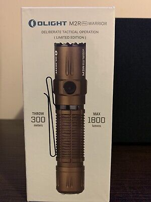 Olight M2R PRO Warrior Limited Edition Desert Tan 1800 Lumens