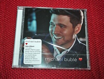 "MICHAEL BUBLE, factory SEALED NEW CD, ""Love"", Great CD, BRAND NEW 2018 NM"