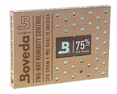 BOVEDA 75% RH (320 Gram) 2-Way Humidity Control Pack Humidifier/Dehumidifier