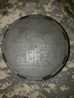 Unused NATO 40mm Gas Mas Filter Works Great with Avon FM-53 AOR1 NAVY SEALS