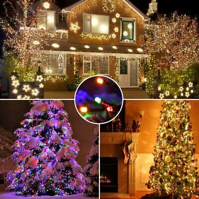 Outdoor Indoor Fairy String Lights 100 LED Christmas Xmas Party Decor Lamps Plug