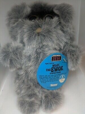 "Vintage Kenner Star Wars Return of the Jedi ""Wiley the Ewok"" Stuffed Figure 1982"