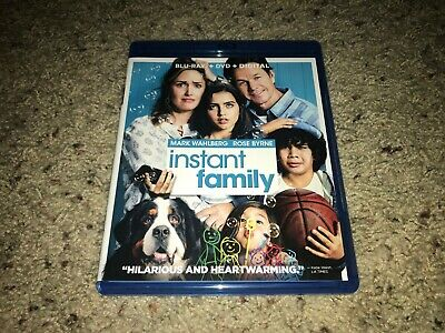 Instant Family (Blu-ray and DVD, 2018, 2-Disc Set)