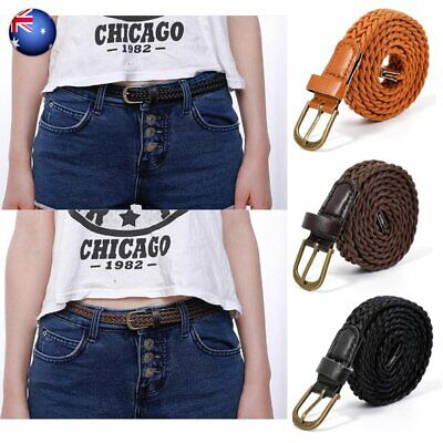Women Lady Girl Bohemian Boho Long Suede leather Tassel Waist Belt Band TieWomen