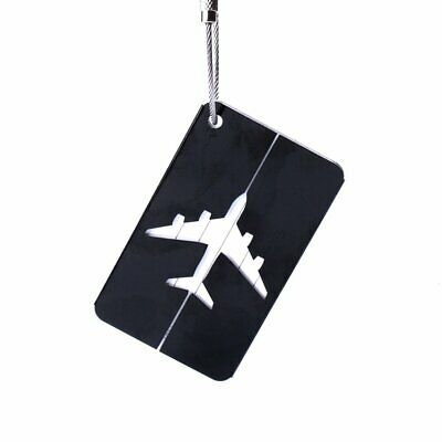 Luggage Tag Metal Hollow Travel Tag Suitcase Boarding Checked Card Id Tags K@