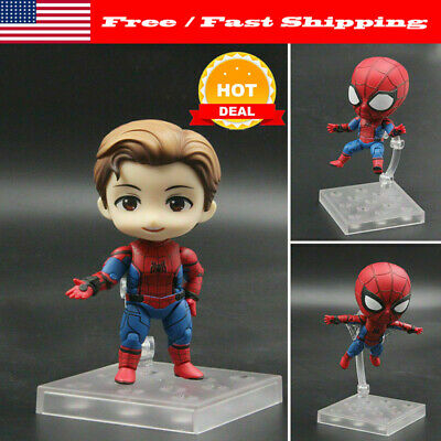 Nendoroid 781 Spider-Man Homecoming Authentic Spiderman Figure Toy Xmas Gift
