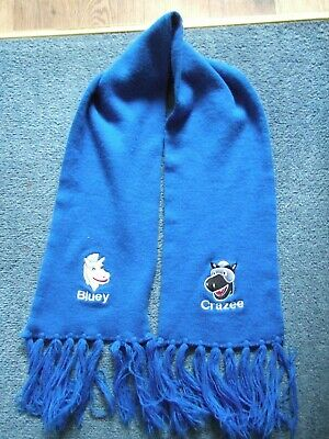 Childs Ipswich Town Fc Bluey And Crazee Scarf