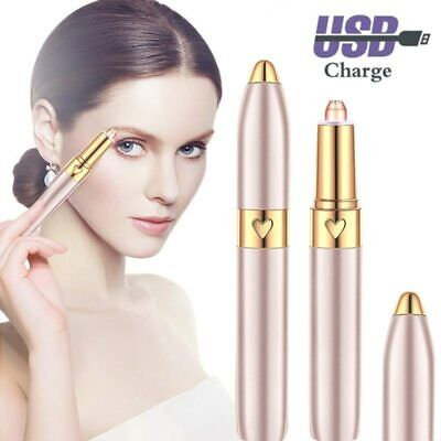 Mini Electric Eyebrow Trimmer Hair Remover Multifunction Brow Razor Face Shaver