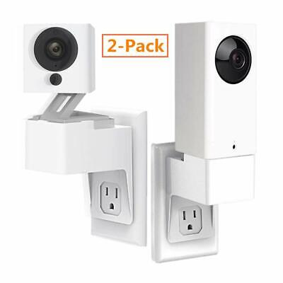 Wyze Cam/Wyze Cam Pan Outlet Wall Mount Upgraded Version AC Outlet Stand Holder