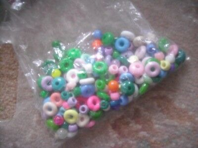 JEWELLERY PLASTIC BEADS for JEWELLERY MAKING
