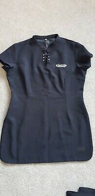 Elemis Uniform Tunic and Trousers Navy Size 12
