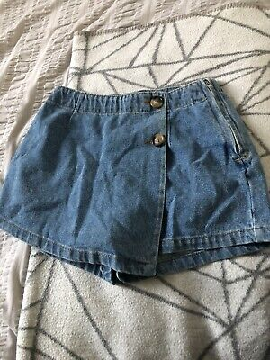 Denim Skort New Look Girls Age 9