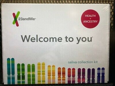 23 and Me Health & Ancestry DNA Saliva Test kit ALL FEES INCLUDED, No Extra Cost