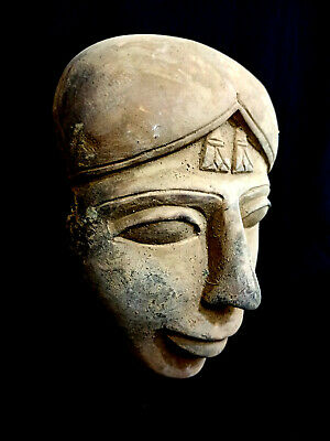 Isis Hathor Mask Egyptian Antiquities Collectibles Cultures Ethnicities bust