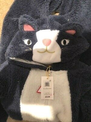 John Lewis Cat One Piece, Girls- Age 10 BNWT