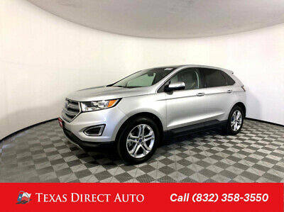 2018 Ford Edge Titanium Texas Direct Auto 2018 Titanium Used 3.5L V6 24V Automatic AWD SUV Premium