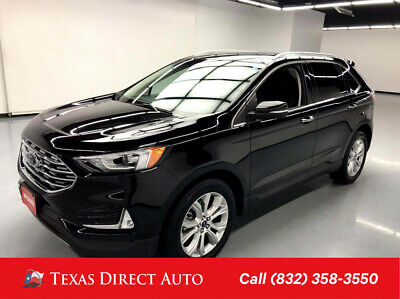 2019 Ford Edge Titanium Texas Direct Auto 2019 Titanium Used Turbo 2L I4 16V Automatic AWD SUV Premium