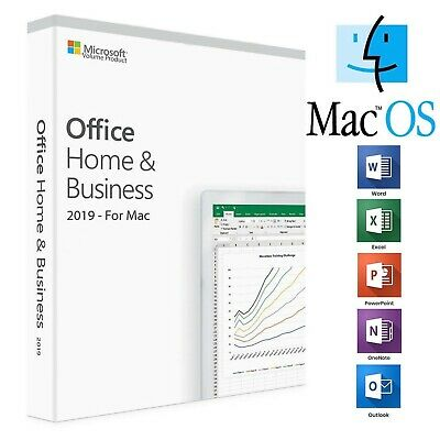 Microsoft Office 2019 Home and Business for 1 MAC