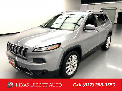 2014 Jeep Cherokee Limited Texas Direct Auto 2014 Limited Used 2.4L I4 16V Automatic FWD SUV