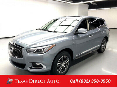 2018 Infiniti QX60  Texas Direct Auto 2018 Used 3.5L V6 24V Automatic AWD SUV Premium