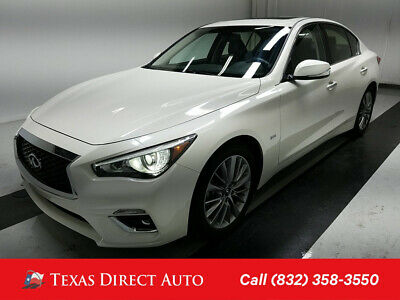 2019 Infiniti Q50 3.0t LUXE Texas Direct Auto 2019 3.0t LUXE Used Turbo 3L V6 24V Automatic RWD Sedan