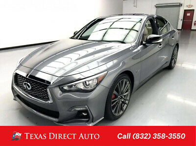 2019 Infiniti Q50 RED SPORT 400 Texas Direct Auto 2019 RED SPORT 400 Used Turbo 3L V6 24V Automatic RWD Sedan