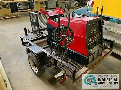 Lincoln Ranger 250 Genset Welder With 6' Single Axle Trailer