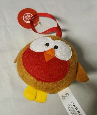 The Body Shop Robin Bird Bath Sponge Cute Christmas Gift BNWT