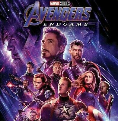 CHEAPEST Avengers: Endgame (Blu Ray) NEW w/o case (disc only)