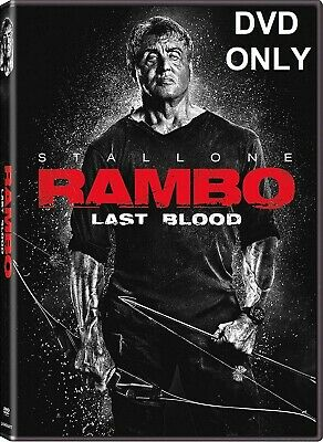 Rambo: Last Blood (2019) DVD ONLY *** The disc has never been watched ***