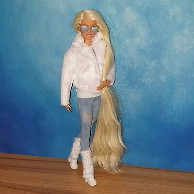 Barbie Made To Move Doll (134) Redressed and Re-rooted hair OOAK