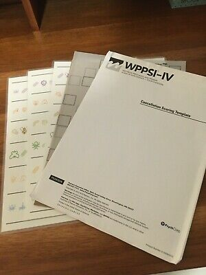 2 WECHSLER ADULT INTELLIGENCE SCALE WAIS-IV 4th Edition