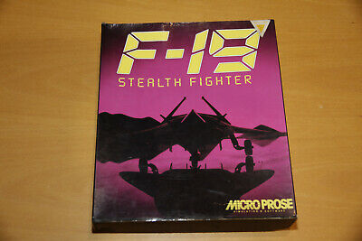"F-19 Stealth Fighter PC 3.5"" Floppy disk version"