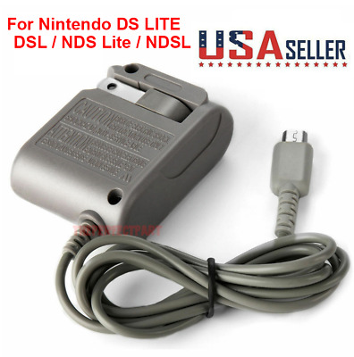 New AC Adapter Home Wall Charger Cable for Nintendo Ds Lite/ DSL/ NDS lite/ NDSL