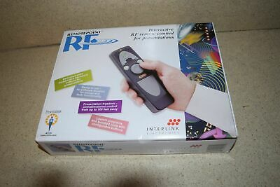 ^^ Interlink Electronics Remotepoint Rf Interactive Rf Remote Control (B1) - New