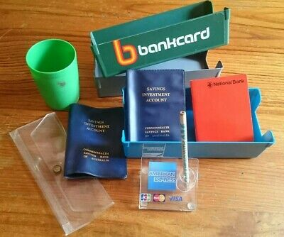 Vintage Bankcard & Bank Advertising Paraphernalia