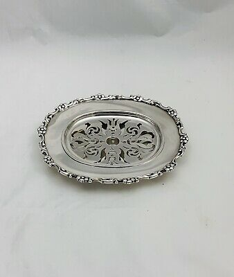 Tiffany & Co. Victorian  Silver Plated Oval Butter Tray