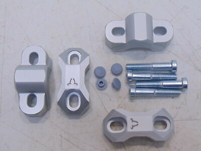 20mm Silver Handlebar Risers For For Yamaha XJ600 Diversion 1991-2003 SW Motech