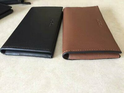 NWT Coach F63646 Universal Sport Calf Leather Phone Case Wallet