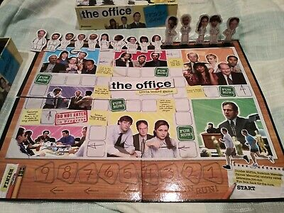 The Office Trivia Game Pressman - Used, slightly incomplete, wristband included!