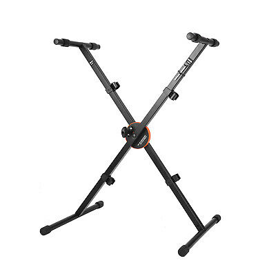 X-Style Heavy Duty Folding Keyboard Stand with Height Control Lock