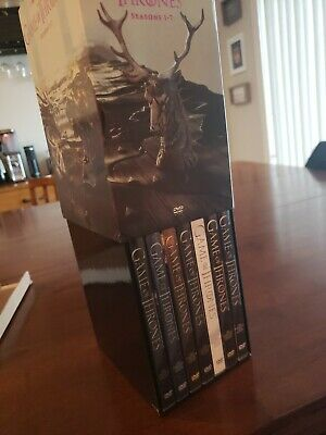 Game of Thrones (GOT): The Complete Seasons 1-7 (DVD, 2017)